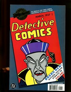 DC MILLENNIUM: DETECTIVE COMICS #1 (9.2) DETECTIVE COMICS REPRINT! 2001~