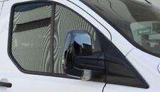 2012-2018 Ford Transit Custom Tourneo Chrome Mirror Cover 2pcs Abs Chrome BLACK
