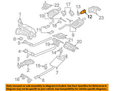 AUDI OEM 07-09 A4 Quattro 2.0L-L4-Exhaust System Tail Pipe 8H0253681E