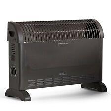 VonHaus Convector Heater - Dark Grey - 3 Heat Settings, Manual Thermostat, 2000W