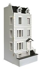 LAURELS  DOLLS HOUSE,12th SCALE WOODEN  GEORGIAN NEW  JULIE ANNS