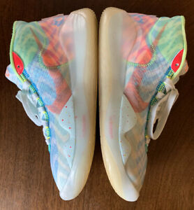 Nike KD 12 WAVVY Size 8 Teal Tint Blue Red Orbit CW2774-300 RARE Mens Zoom