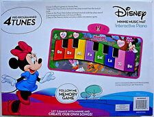 DISNEY MINNIE MOUSE STEP ON INTERACTIVE ELECTRONIC FLOOR PIANO MUSIC MAT