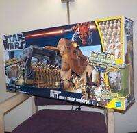 Star Wars TRADE FEDERATION MTT Multi Troop Transport with 20 Battle Droids NIB