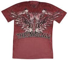 Throwdown Blood T-Shirt (Burgundy) - XL