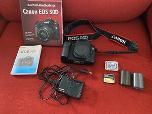 Canon EOS 50D 15.1 MP SLR-Digitalkamera - Schwarz (Nur Gehäuse)