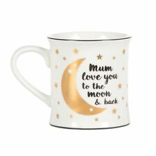 Mum Love You to The Moon and Back Mug Mothersday Birthday Sass And Belle Gift