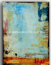 YAKAI Abstract oil painting 100% Hand-painted on canvas 24x36in No Frame =B=