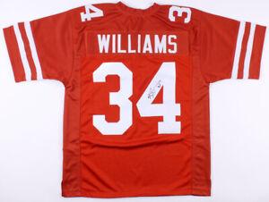Ricky Williams Signed Texas Longhorns Jersey (JSA COA) 1998 Heisman Trophy