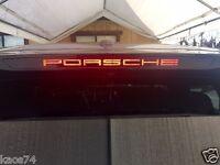 Porsche Macan 3rd brake light decal overlay 2014 2015 2016 2017 2018