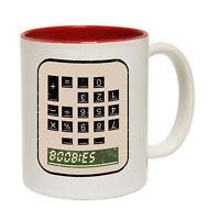 Funny Mugs Boobies Calculator Geek Geeky Nerd Nerdy Humour Gamer NOVELTY MUG