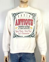 vtg 80s 90s retro Genuine Antique Person Sweatshirt Been There Done That sz XL