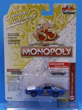 JOHNNY LIGHTNING 1:64 POP CULTURE MONOPOLY with Game Piece 1985 CHEVY CAMARO Z28