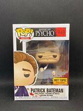 Funko Pop! Patrick Bateman #943 American Psycho Hot Topic Exclusive