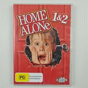 Home Alone 1 & 2 Lost in New York DVD - Region 4 - TRACKED POST