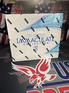 2020 Panini Immaculate Baseball Factory Sealed Hobby Box (box 4)