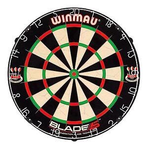 Winmau Blade 5 FIVE Dart Board Professional Dart Board BEST quality + Free Darts