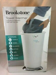 NEW/Open Box Brookstone Towel Warmer XL