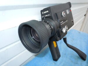 CANON Auto Zoom 512XL Electronic Super 8 8mm Movie Camera Fully Functional