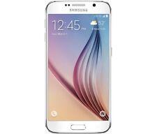 Samsung Galaxy S6 128GB White Pearl Unlocked B *VGC* + Warranty!!