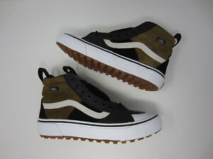 NEW Vans Sk8-Hi MTE 2.0 DX Dirt Brown Shoes Boots VN0A4P3ITUH Mens Size 6.5 7