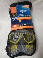 Speedo Reef Scout Mask +Snorkel +Fin Ages 6-14