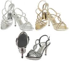 Stiletto Synthetic Leather Argyle, Diamond Heels for Women