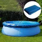 10ft Inflatable Above Ground Round Swimming Pool Cover Dustproof Pool Protector