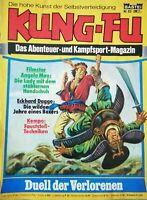Kung-Fu Das Abenteuer- und Kampfsport-Magazin Nr. 63: Duell der Verlorenen(1978)
