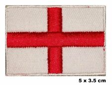 England ST. George's Cross Flag Rugby Embroidered Patch Costume Badge