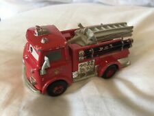 Disney Pixar Cars RED THE FIRE TRUCK ENGINE 1:55 MATTEL Diecast TOKYO DRIFT MATE