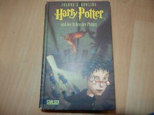 'Buch Joanne K. Rowling Harry Potter und der Orden des Phönix