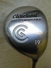 Cleveland Golf Launcher 19º wood w/launcher gold graphite Fujikura shaft Right H