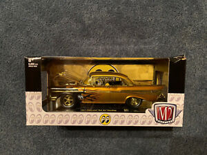 2020 M2 MOON Equipped 1957 Chevrolet * Bel Air Hardtop GOLD*CHASE* 1/500 Rare