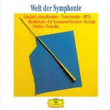 Welt der Symphonie, Unvollendete, 1812, Sommernachtstraum, Finlandia, DGG