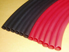 "HEAT SHRINK TUBING 6 FT. RED/BLACK 1/4"" FOR RC TOOL KIT/BOX*Lose electrical tape"