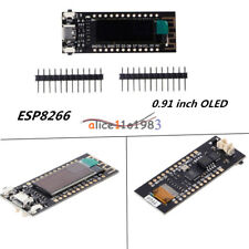 TTGO Nodemcu WIFI ESP8266 0.91 inch OLED Display Screen Board CP2104 For Arduino
