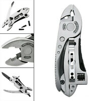 Multifunction Outdoor Pocket Metal Multi Tool Pliers Spanner Wrench Screwdriver