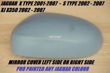 Jaguar S-Type X-Type XJ XK Außenspiegel Abdeckung Pro lackiert Irgendein Farbe
