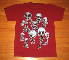 SC Threads Urban Hip Hop T-Shirt, Men's MEDIUM Red Designer SUBCONSCIOUS THREADS