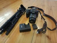 CANON EOS 3000D DSLR CAMERA WITH CANON EF-S 18-55MM F/3.5-5.6 III LENS