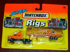 1994 SUPER MATCHBOX RIGS  FORD AEROMAX TRACTOR TRAILER (HONEY NUT CHEERIOS)