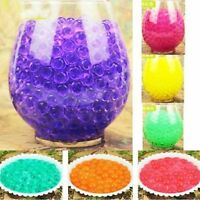 500pcs Water Plant Flower Crystal Soil Mud Pearls Gel Vase Bead Jelly Decoration
