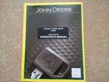 John Deere Progator 2020A 2030A Operator Manual (ref41)
