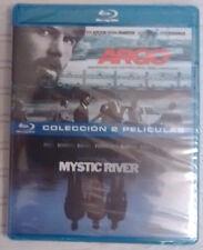 Pack 2 Blu-ray:Argo - Mystic River (NUEVOS a estrenar)