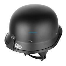 DOT M allemand Style capitonné demi-casque moto pour motard pilote