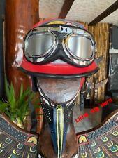Chopper Helm Gr M Indianer Motiv Helme Bulzeye CASCO HELMET CASQUE BIKER Size.M