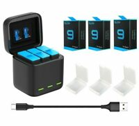 Battery Storage and Charger for GoPro Hero 9 1750mAh