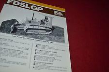 Fiat Allis FD5LGP Crawler Tractor Dozer Brochure DCPA6 Ver4