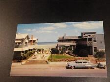 VINTAGE POSTCARD THE DRIFTWOOD MYRTLE BEACH SC chrome OLD CARS